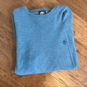 Timberland blue crewneck sweater